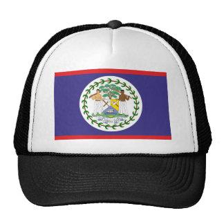 Official belize flag mesh hat