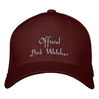 Official Bird Watcher Embroidered Baseball Cap