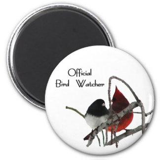 Official Bird Watcher Magnet
