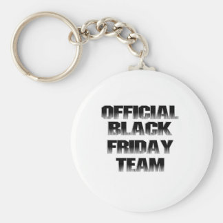 Official Black Friday Team Member Keychain