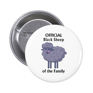 Official Black Sheep Of The Family 6 Cm Round Badge