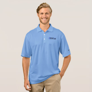 Official Blue FAST@50 Nike Polo Shirt