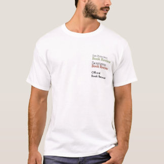 Official Book Reviewers - Stacked Logos T-Shirt