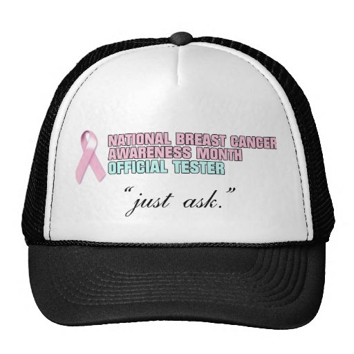 Official Breast Cancer Tester 3 Mesh Hat