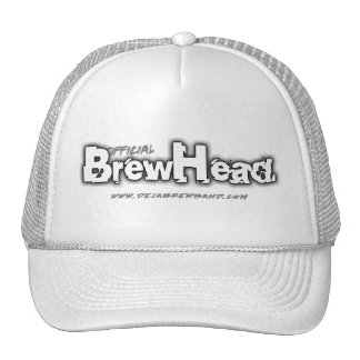 """Official BrewHead"" Logo Hat"