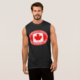 OFFICIAL CANADIAN BEER DRINKING SHIRT