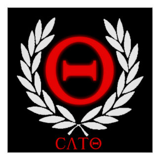 Official Cato Poster - Logo