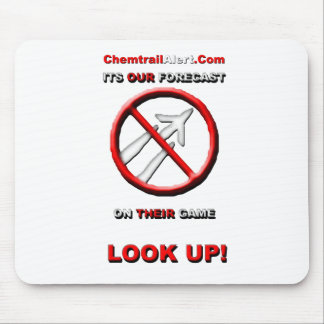 Official Chemtrail-Alert Com Mouse Pad