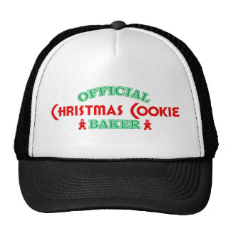 Official Christmas Cookie Baker Hat