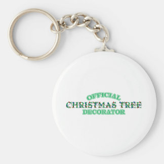 Official Christmas Tree Decorator Keychain
