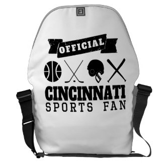 Official Cincinnati Sports Fan Commuter Bag