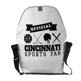 Official Cincinnati Sports Fan Courier Bags