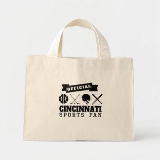 Official Cincinnati Sports Fan Mini Tote Bag