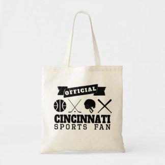 Official Cincinnati Sports Fan Budget Tote Bag