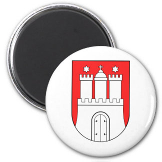 Official Coat of Arms Hamburg Germany Symbol Magnet