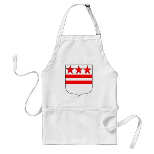 Official Coat of Arms of George Washington Family Aprons