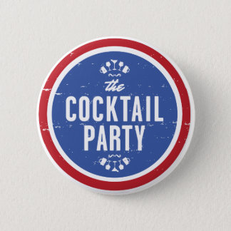 Official Cocktail Party Button