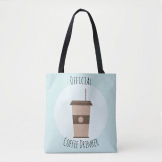 Official Coffee Drinker Tote Bag