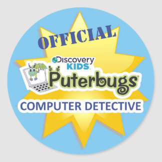Official Computer Detective Sticker