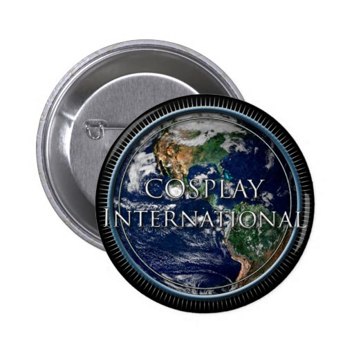 Official Cosplay International Button