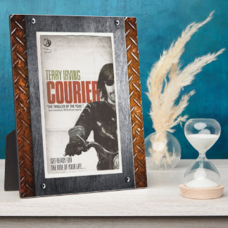 Official Courier Book Cover Display Plaque