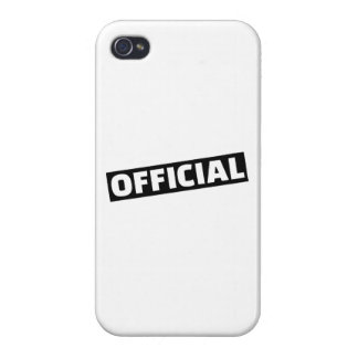 Official Cover For iPhone 4