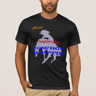 official CowgirlONCoffee COWBOY HOTTIE T-Shirt