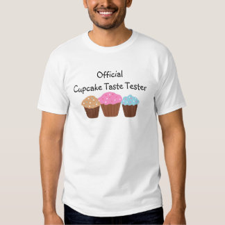 Official Cupcake Taste Tester T Shirt
