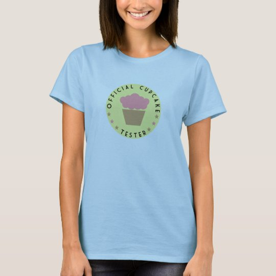 Official cupcake tester T-Shirt