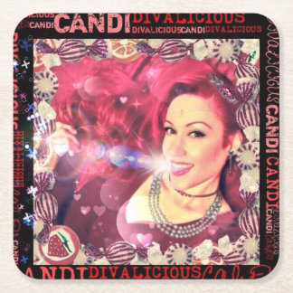 Official Divalicious Candi Coasters