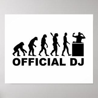 Official DJ Evolution Poster