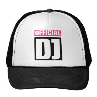 Official DJ Trucker Hat