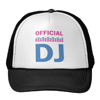 official DJ Trucker Hats