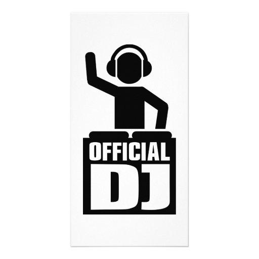 Official DJ Photo Card