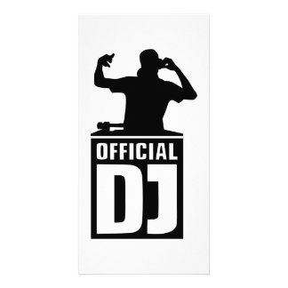 Official DJ Photo Card Template