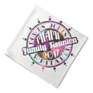 Official DJW Reunion 2017 Miami Bandana