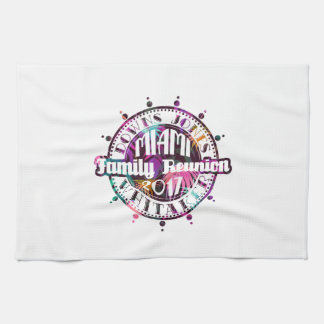 Official DJW Reunion 2017 Miami Hand Towel