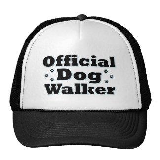 Official Dog Walker Cap
