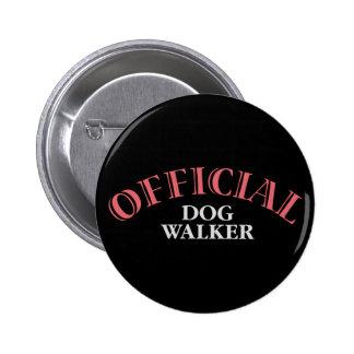 Official Dog Walker - Pink Pins