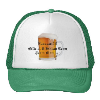 Official Drinking Team Cap