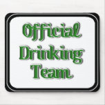 Official Drinking Team Text Image