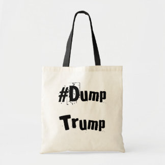 Official #DumpTrump Tote Bag (Natural)