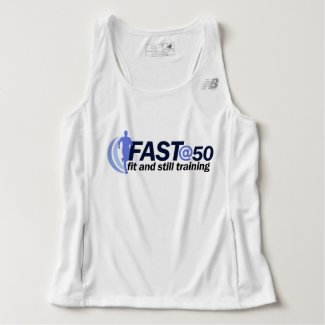 Official FAST@50 Running Vest Tank Top