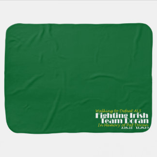 **OFFICIAL** Fighting Irish - Team Doran Bankie! Baby Blanket