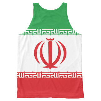 Official Flag of the Islamic Republic of Iran All-Over Print Tank Top