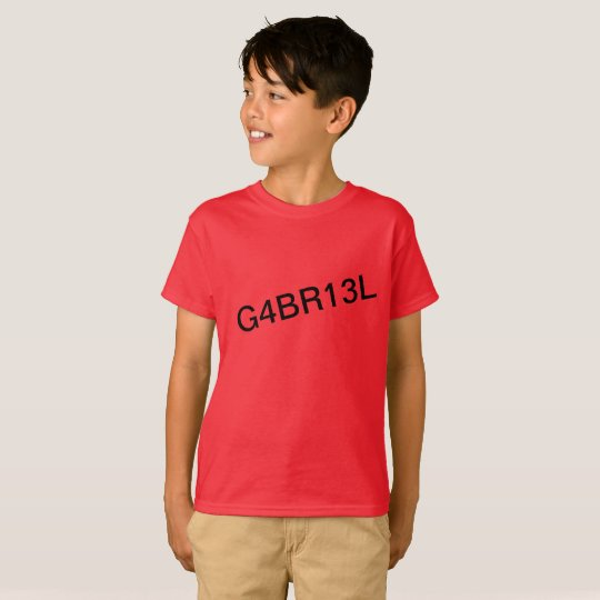 Official G4BR13L fan shirt [LIMITED EDITION]