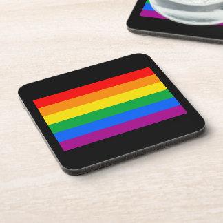 OFFICIAL GAY PRIDE FLAG COASTERS