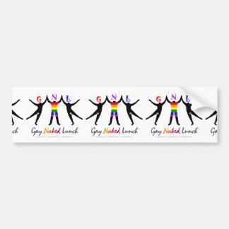 Official GayNakedLunch Bumper Sticker
