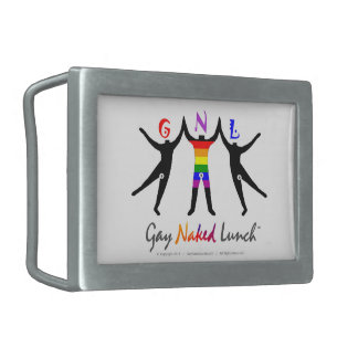 Official GayNakedLunch (GNL) Belt Buckle