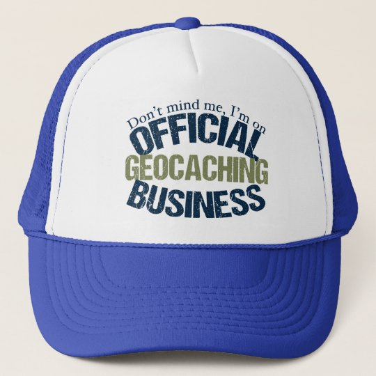 Official Geocaching Business Cap